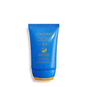Crème Solaire Visage Age Defense SPF30 - SHISEIDO, Soin protecteur solaire expert