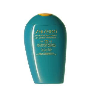 Lait Solaire Protecteur SPF15 - Shiseido, Solaires