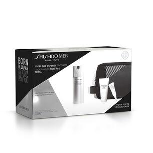 Coffret Shiseido Men Revitalisant Total Fluide Léger - Shiseido MEN, Hommes